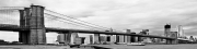 Brooklyn Bridge BW Pano Slide Show 14
