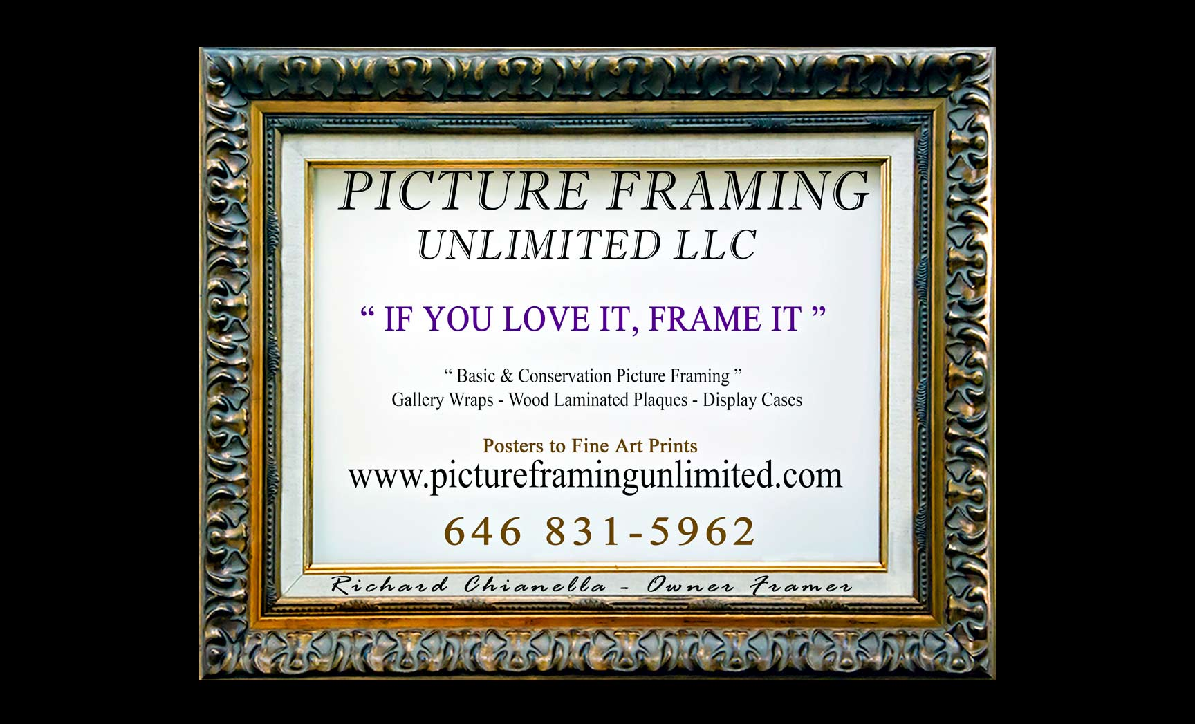 Picture Framing Unlimited